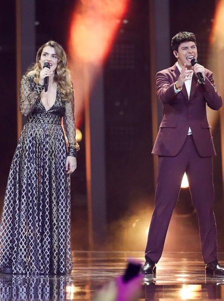 Todo sobre el 'look' de Amaia y Alfred en Eurovisión