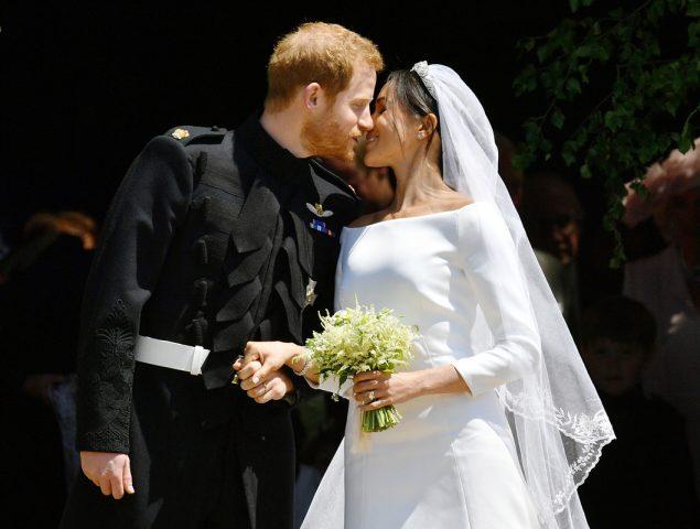 El vestido de novia de Meghan Markle al detalle