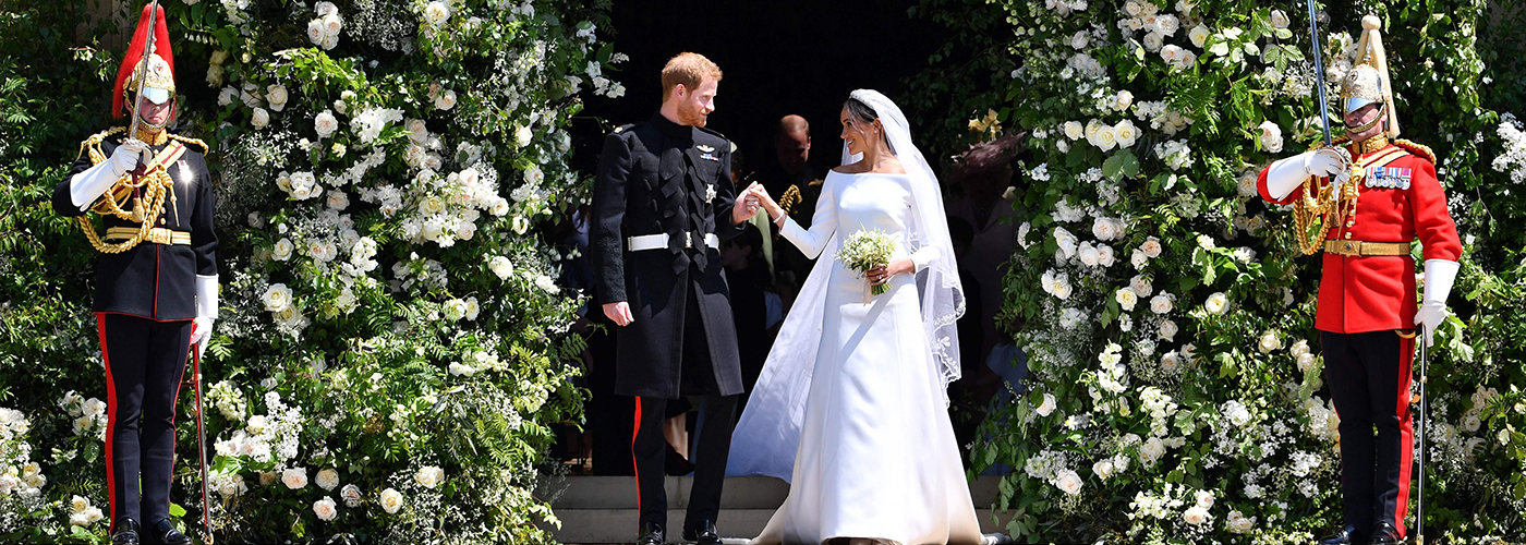 Las mejores imágenes de la boda del príncipe Harry y Meghan Makle