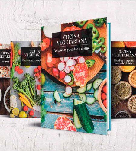 Ideas sanas y nutritivas en la colección 'Cocina Vegetariana'
