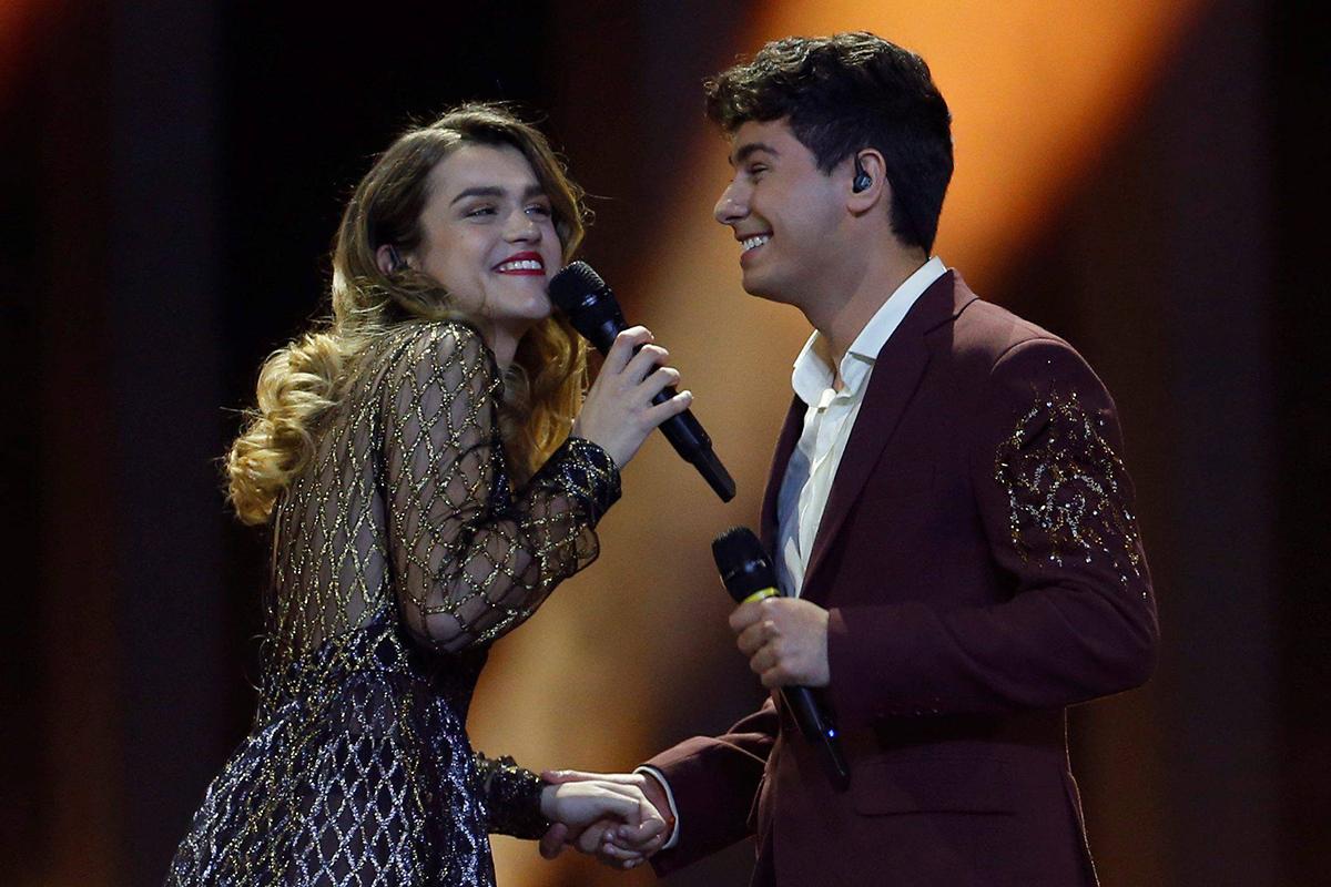 afred y amaia eurovision