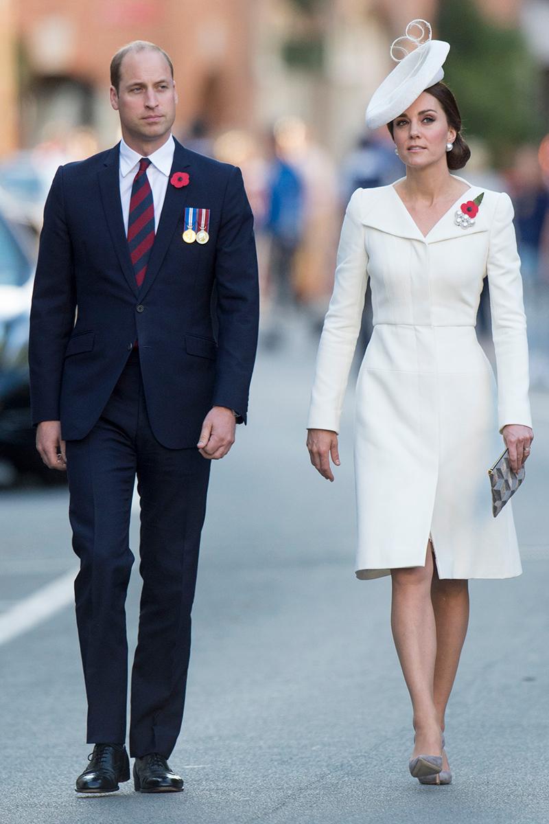 Kate Middleton repite vestido para dejar todo el protagonismo a ...
