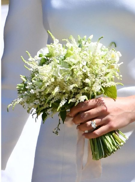 La historia (y el mensaje oculto) detrás del ramo de novia de Meghan Markle