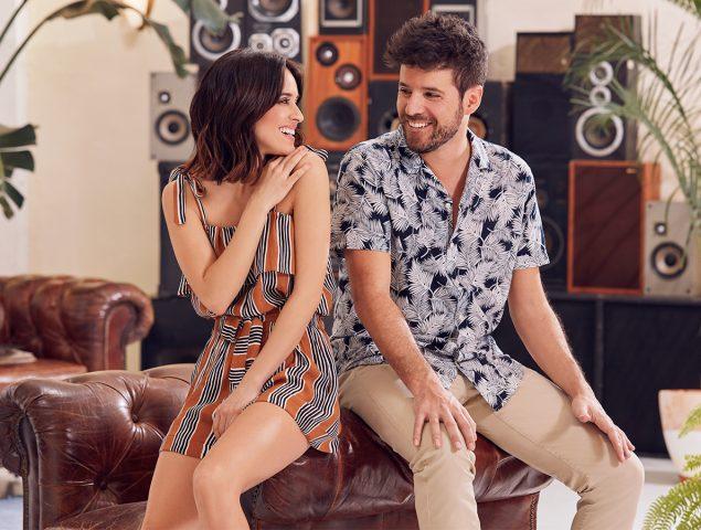Macarena García y Pablo López protagonizan el 'fashion film' más divertido de Springfield