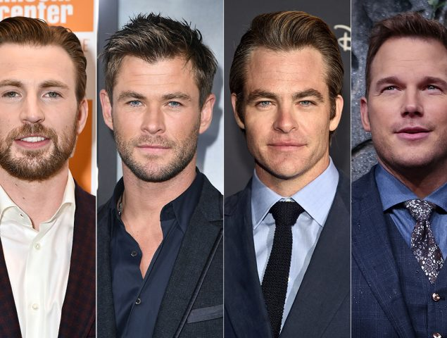 Blanco, hetero, de ojos azules y llamado Chris: los ingredientes para ser una estrella