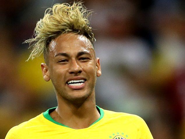 Todos los cortes de pelo de neymar