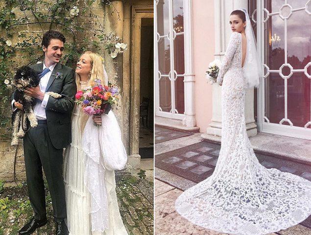 Cómo se visten las expertas en moda cuando las que se casan son ellas