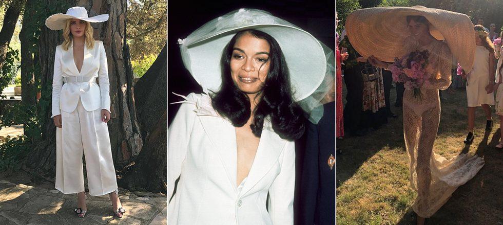 alerta, novias: la pamela xxl es el nuevo velo | actualidad, moda