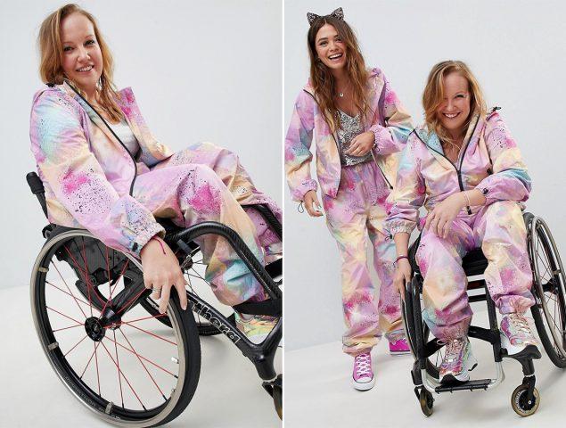 Las redes aplauden el diseño inclusivo para personas en sillas de ruedas de Asos