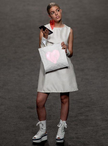 Nerea de 'OT' debuta como modelo en la semana de la moda de Madrid