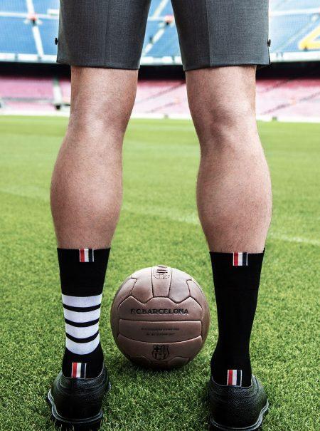Así son los trajes formales que Thom Browne ha diseñado para los jugadores del FC Barcelona