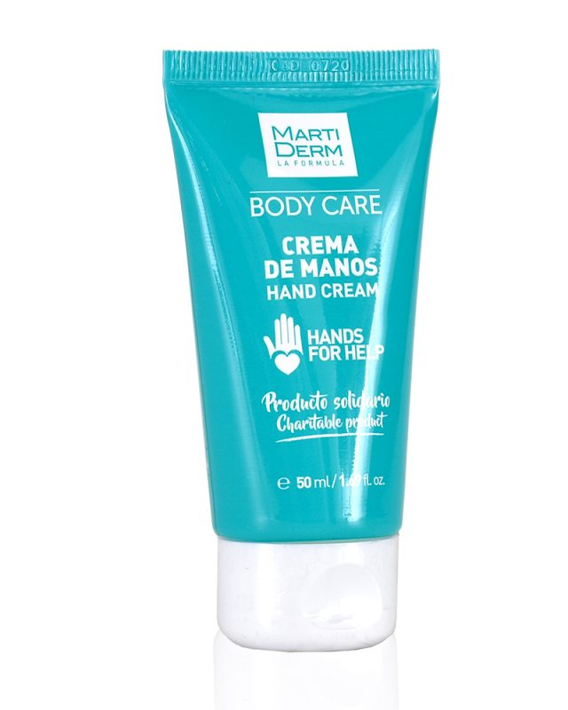 Crema para manos sin perfume