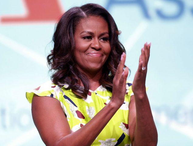 Michelle Obama lo da todo en primera fila del concierto de Beyoncé y Jay Z en París