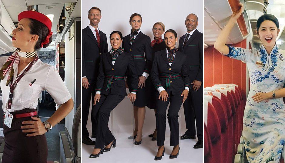 uniformes aereos