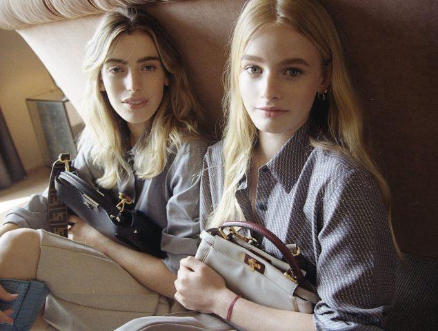 Esther y Clara McGregor fichan por una gran firma de moda