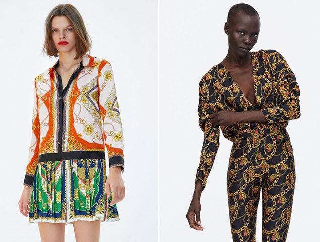 La nueva obsesión de Zara es Versace (y no lo disimula)