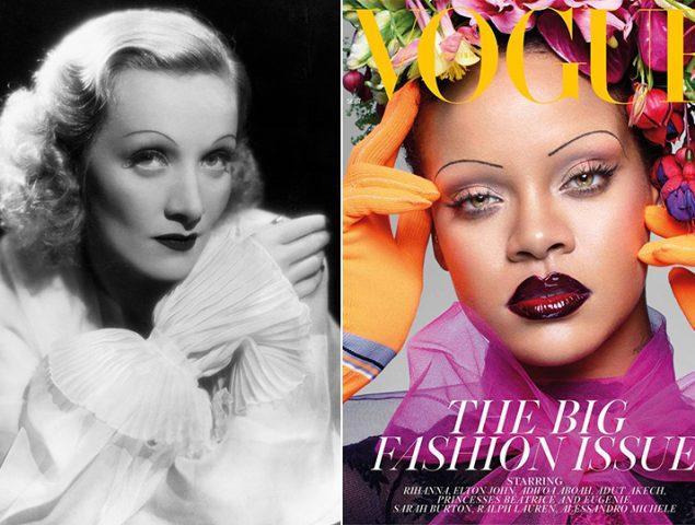 Rihanna o el temido retorno de las cejas ultrafinas