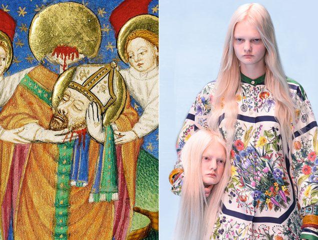 Por qué la moda rescató el arte clásico y lo convirtió en meme