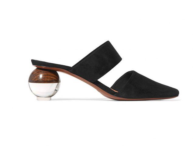 El capricho de la semana: unos zapatos con tacón geométrico