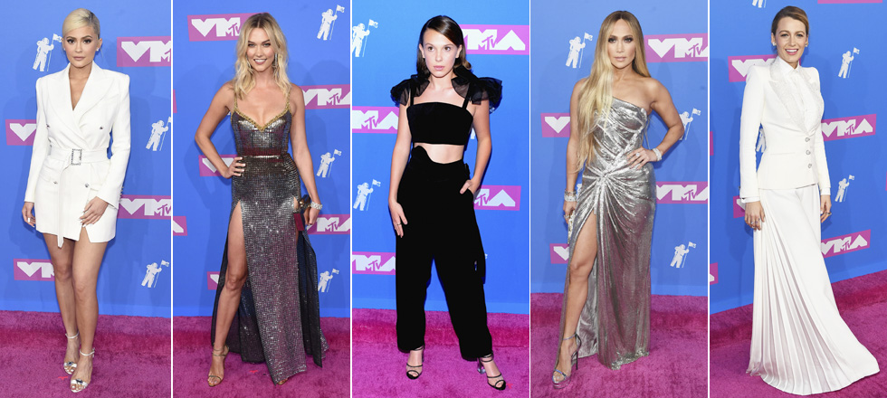La alfombra roja de los premios MTV VMA's 2018