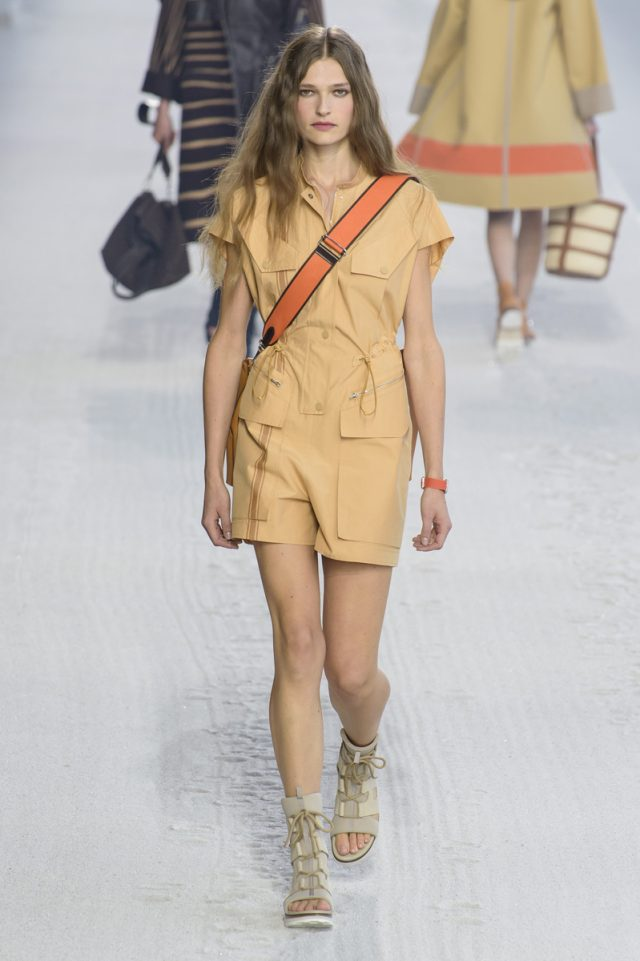 Hermès mezcla minimalismo y comodidad