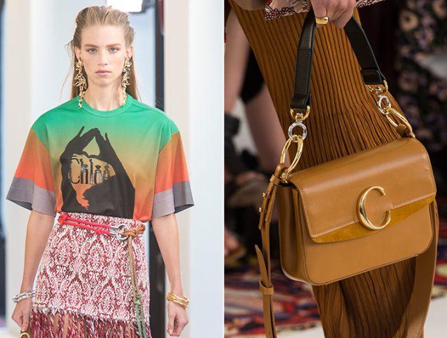 Camisetas y bolsos: Chloé lo apuesta todo al logo