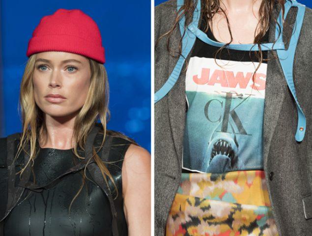 Calvin Klein convierte la camiseta de 'Tiburón' en un símbolo del lujo