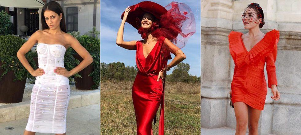 788dcc58a1 Así vistieron las  celebrities  invitadas a la boda de Pelayo y Andy ...