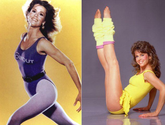 Cómo Jane Fonda usó a su acosador para crear el VHS más vendido de la historia