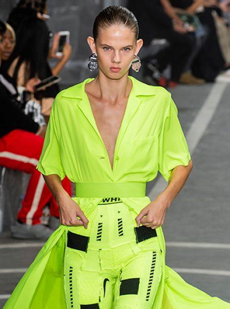 El verde blandiblú también será el color del próximo verano (palabra de Off-White)