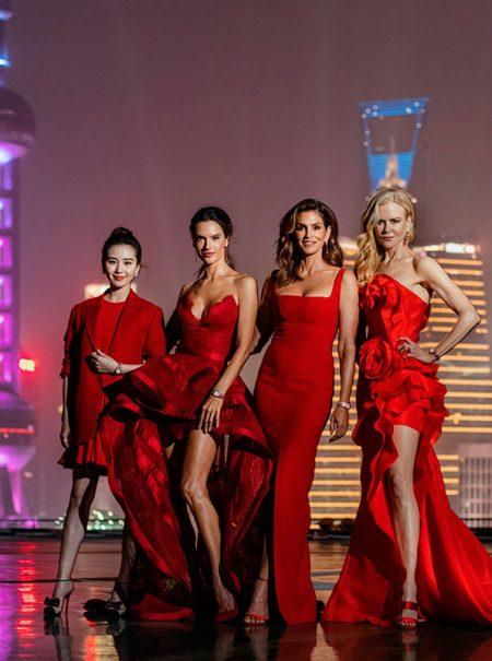 Así fue la fiesta de Omega que reunió en Shanghái a Nicole Kidman y Cindy Crawford