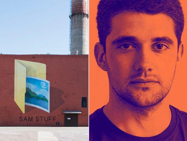 Ampparito, el artista urbano que obliga a mirar dos veces