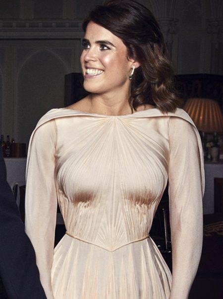 Así es el segundo vestido de novia de Eugenia de York