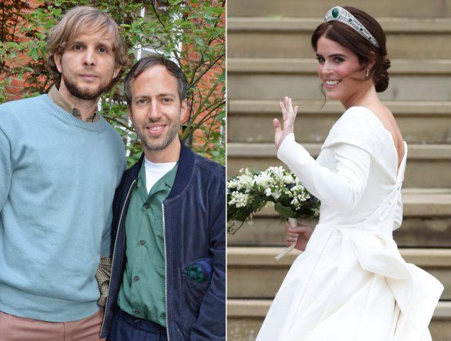 el dúo de diseñadores que firma el vestido de novia de eugenia de