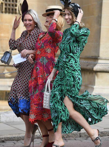 Los dos vestidos de Zara que lograron colarse en la boda de Eugenia de York