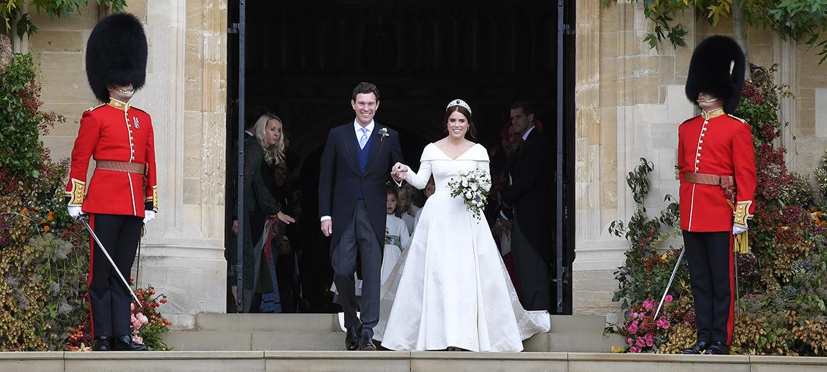 vestido Eugenia de York