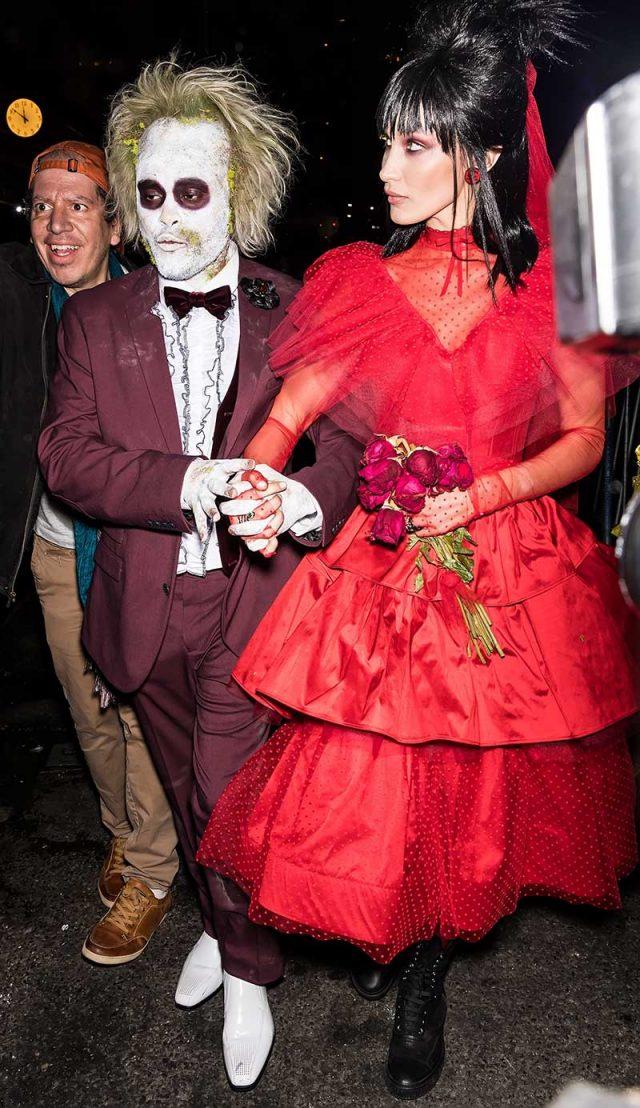 El disfraz de Kim Kardashian y otros looks de Halloween de las celebrities