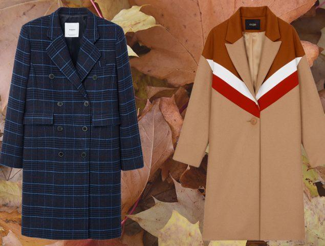 Listos para estrenar: 16 abrigos perfectos para los meses de entretiempo