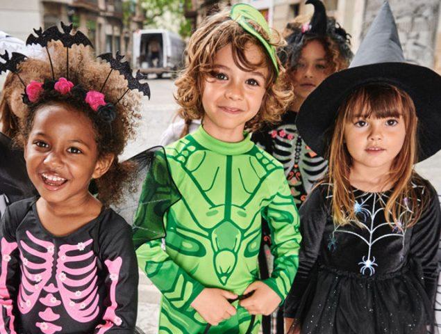 Los mejores disfraces de Halloween para niños están en Zara y H&M