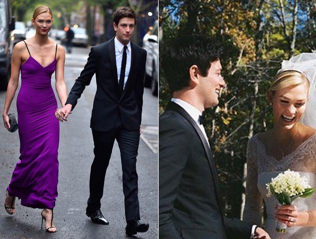 Karlie Kloss se ha casado con este vestido de princesa