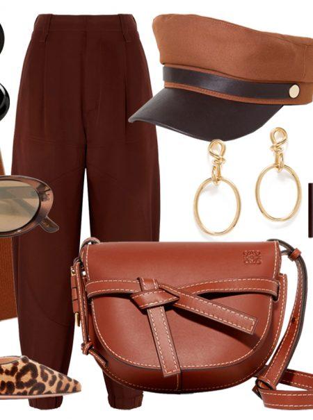 15 ideas para vestir de marrón de pies a cabeza este otoño