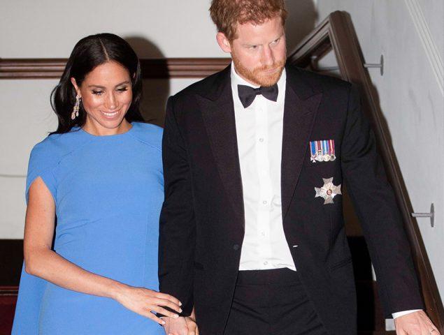 El vestido azul de Meghan Markle que se quedará grabado en nuestra memoria