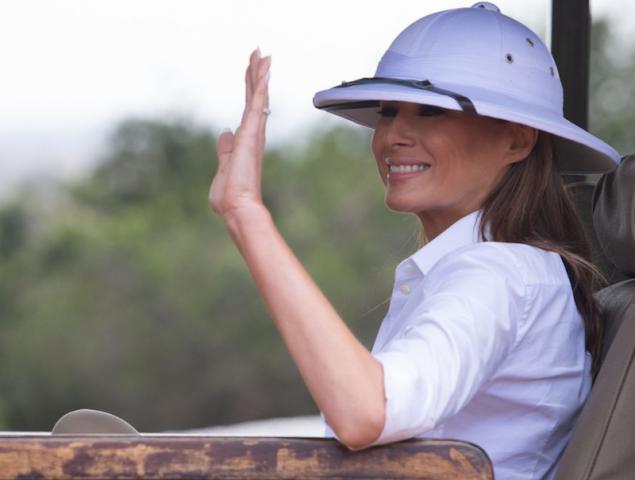 Melania Trump vuelve a ofender a una cultura con su look
