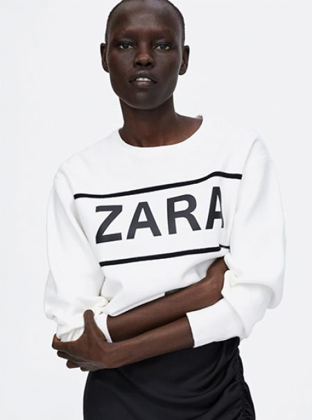 ¿Por qué alguien querría vestir con el logo de Zara?