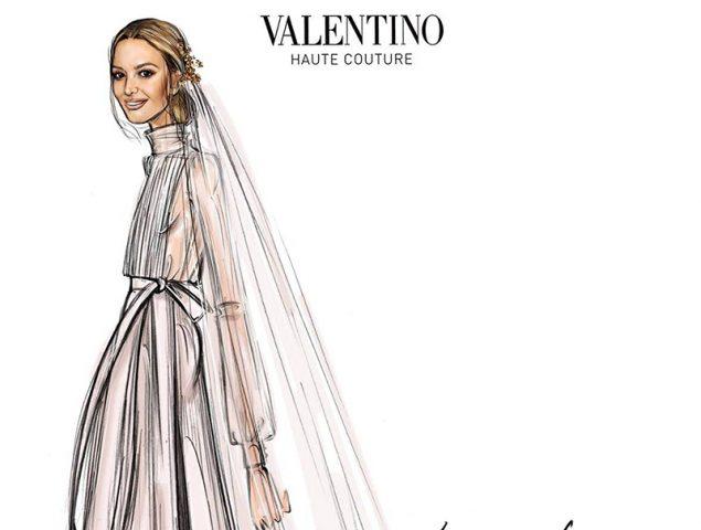 El «sí, quiero… Valentino» de Marta Ortega
