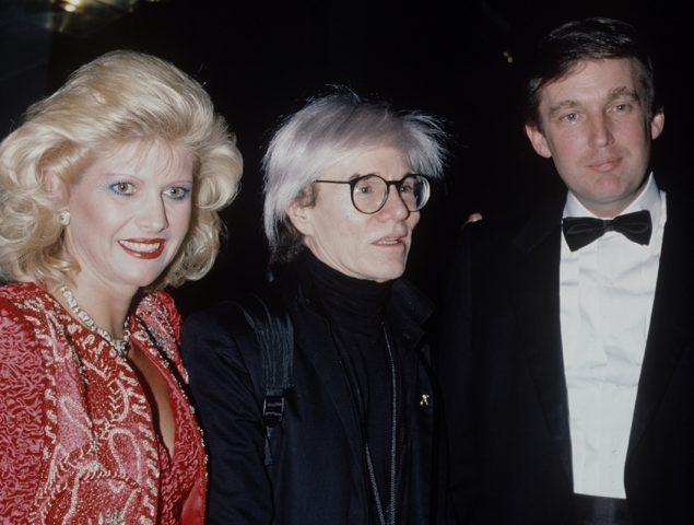 Cuando Trump encargó a Warhol unos cuadros y no los compró porque no le gustaba el color