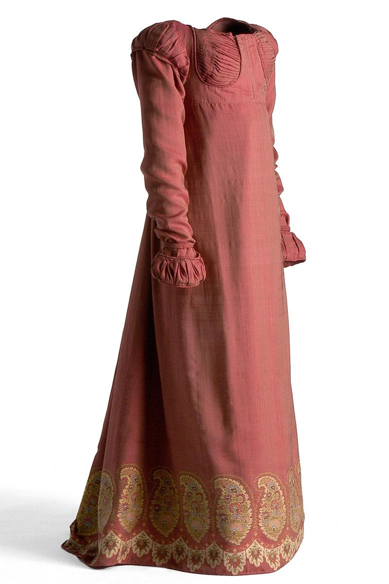 Color rosa en el Museo del Traje