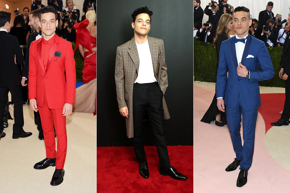 hombres alfombra roja