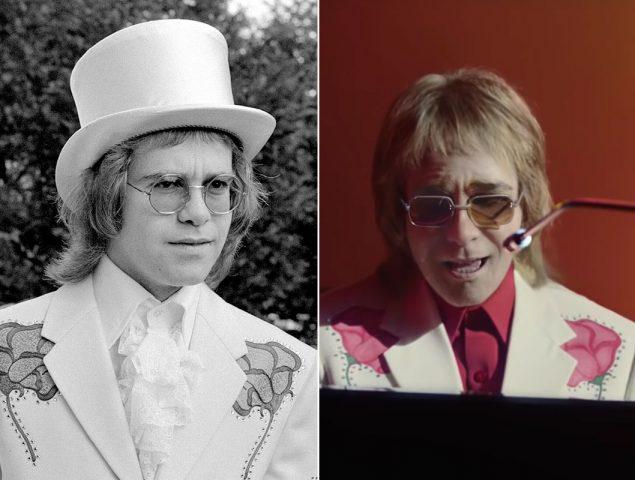 Los 'looks' reales de Elton John que han inspirado su anuncio de Navidad