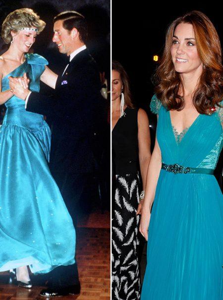 De Isabel II a Kate Middleton: el azul favorito de los 'royals' viene de Egipto